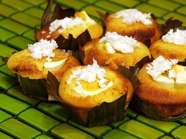 Bibingka đặc sản của nước Philipin