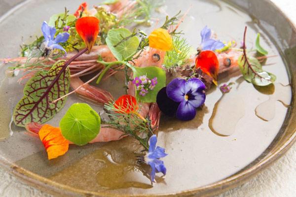 nghệ thuật trang trí món ăn
