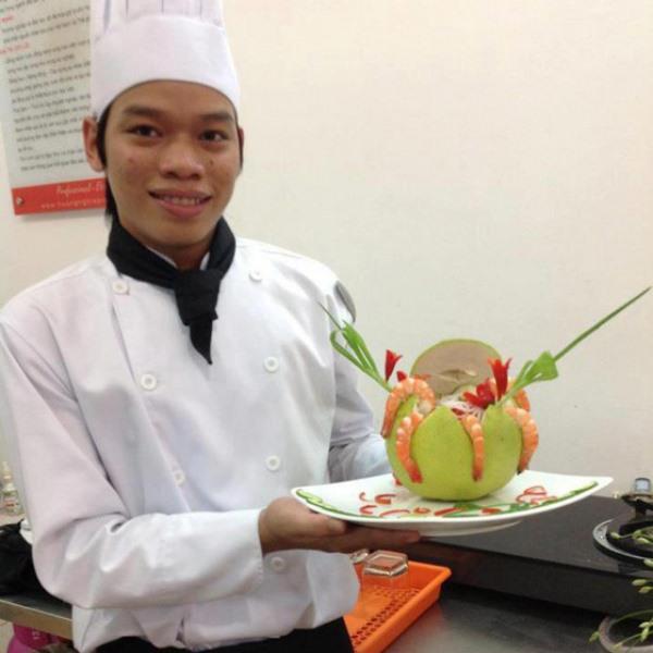 Buổi phỏng vấn một học viên bếp trưởng