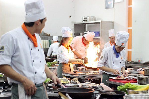 Nghề bếp bếp - chìa khóa con đường thành công