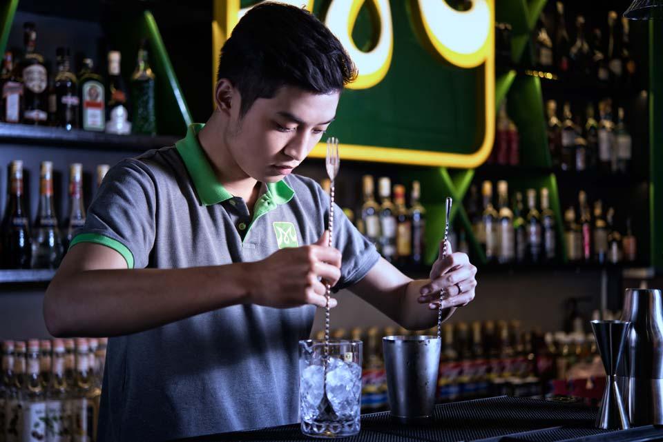 đào tạo pha chế bartender