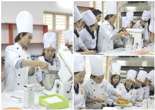 giảng viên bếp bánh