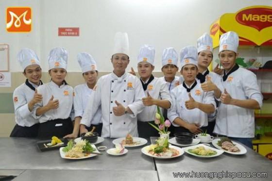 học viên Bếp Trưởng Á Âu