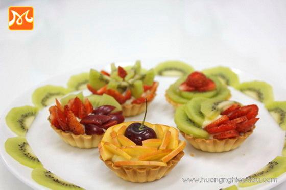 fruit tart trái cây