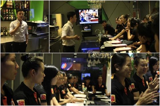 Lop hoc barista tai phan xich long huong nghiep a au
