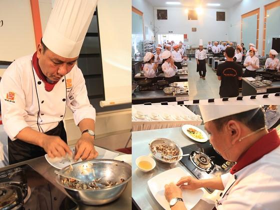 Thầy Nguyễn Thanh Tùng - Siêu đầu Bếp Iron Chef