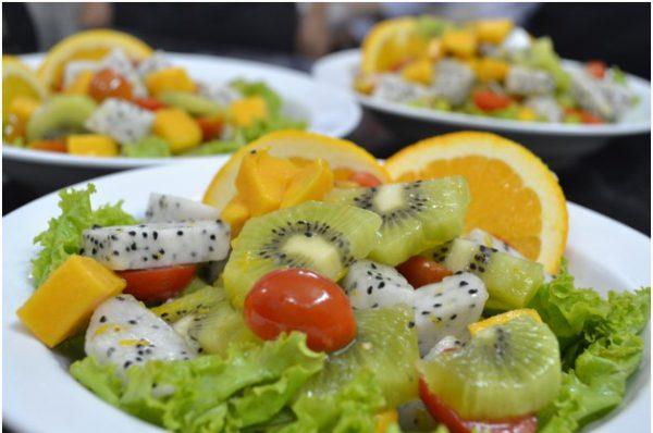 thành phẩm lớp kỹ năng nghề K125 Salaf trái cây