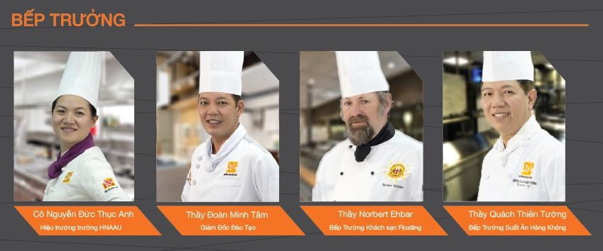 Giảng viên trường dạy nấu ăn Hướng Nghiệp Á Âu