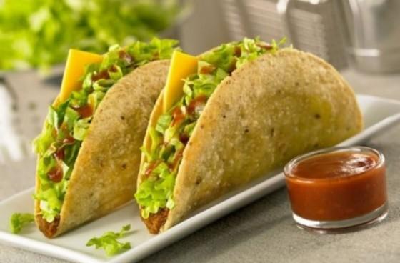 tacon giòn rụm của xứ mexico
