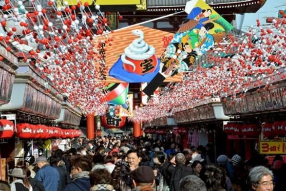 lễ hội shogatsu của nhật bản