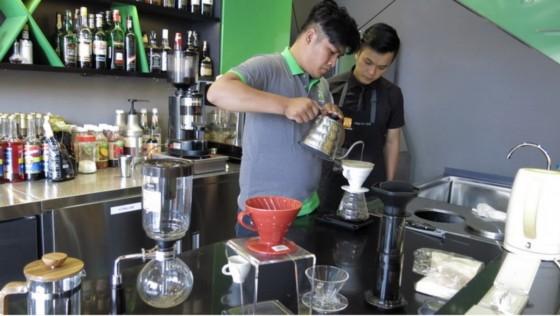 học pha chế cà phê brewing coffee
