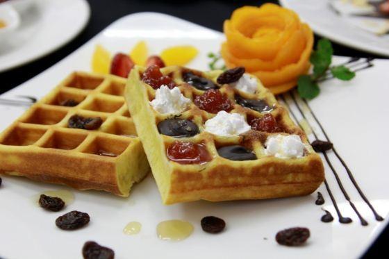 bánh waffle của bb31