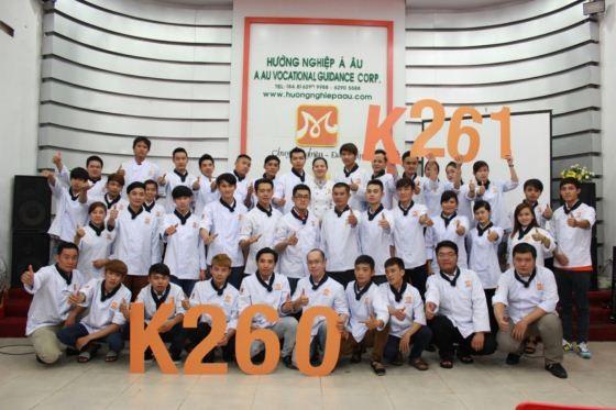 học viên k260 và k261