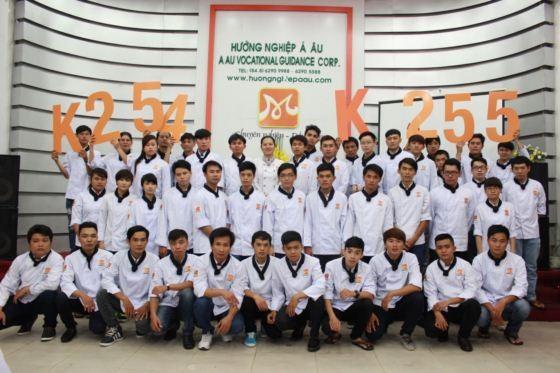 học viên khai giảng lớp k254 k255