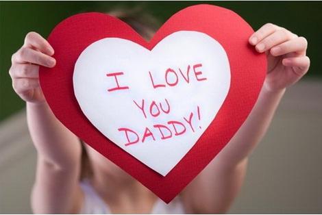 ngày của cha bày tỏ tình yêu