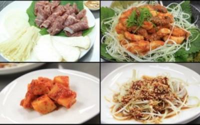 Các nón ăn được chế biến theo phong cách Hàn
