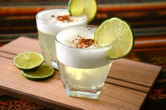 học pha chế cocktail pisco sour