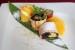 bánh chuối cuộn nếp lá cẩm