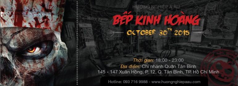 """""""Bếp Kinh Hoàng"""" ra mắt halloween 2015"""