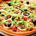 hình ảnh bánh pizza rau củ quả