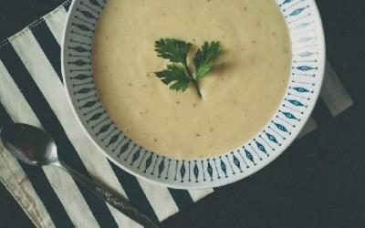 hình ảnh súp khoai tây