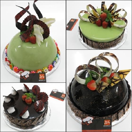 tạo hình chocolate trang trí bánh