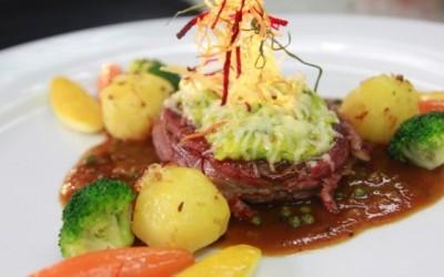 Thịt bò sốt tiêu xanh