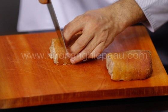 Chân giò cắt miếng