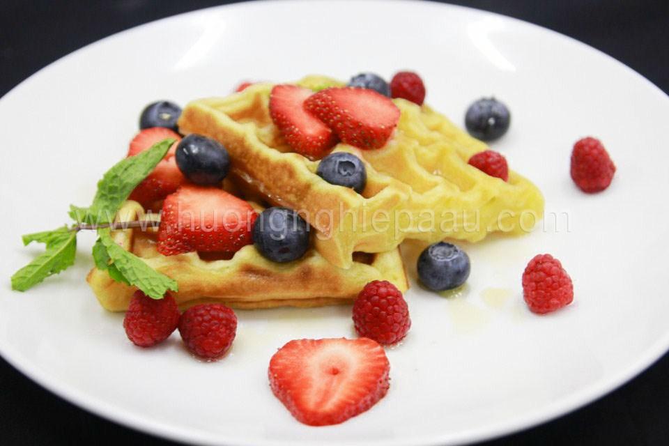 Học Làm Bánh Waffle