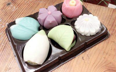 bánh wagashi tạo hình sinh động