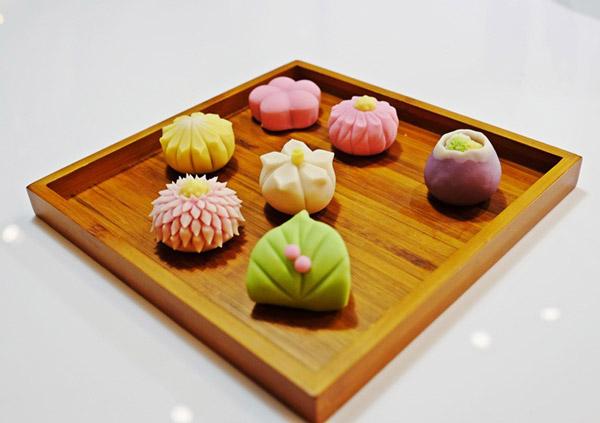 thành phẩm bánh wagashi