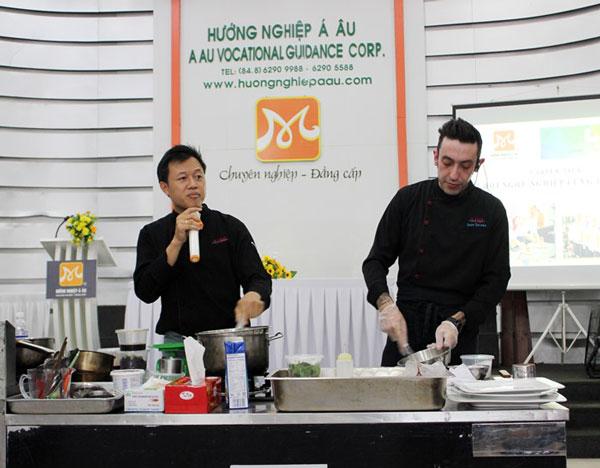 bếp trưởng ivan barone chia sẽ bí quyết nấu ăn
