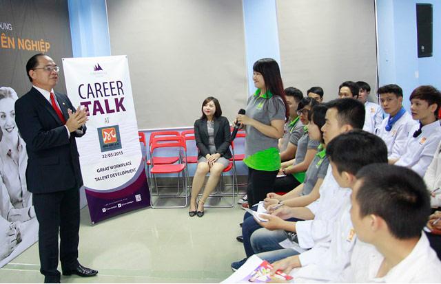 Chương trình Career Talk – Cơ hội nghề nghiệp cùng LConcepts