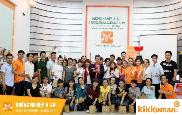 HƯỚNG NGHIỆP Á ÂU đồng hành cùng chương trình Training Nhân Sự Kikkoman