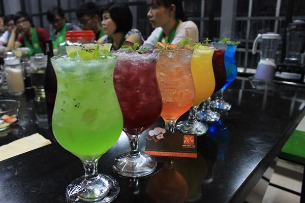 hướng dẫn pha chế thức uống