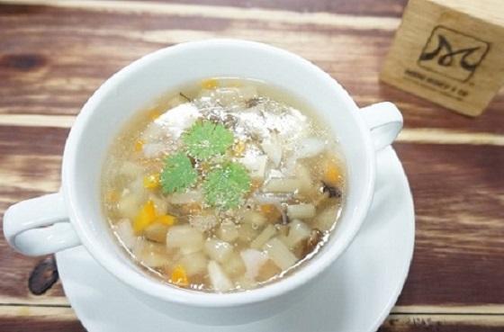 lớp chuyên đề sup son hào hải vị chay thanh mát