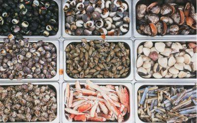 Những loại ốc, hải sản được bán nhiều
