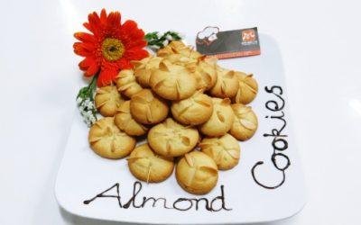 Bánh cookies hạnh nhân giòn xốp