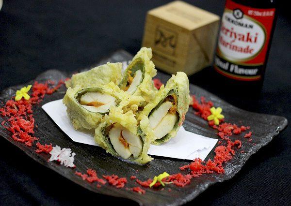 koi sushi của bếp trưởng bếp nhật