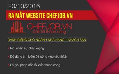 ra mắt chefjob