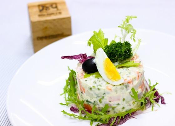 Salad Nga độc đáo lạ miệng