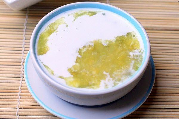 Chè hạt sen nước đậu xanh