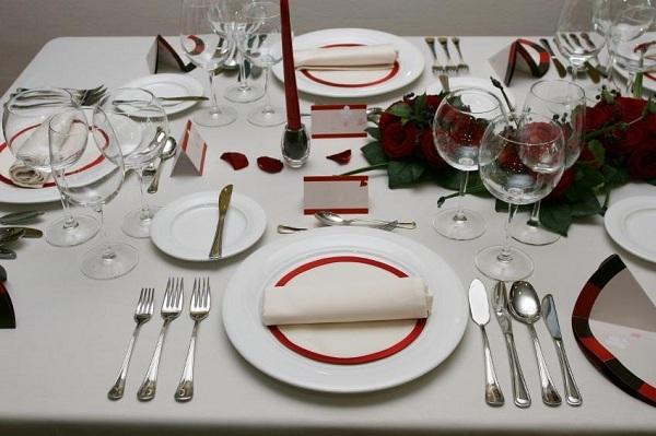 Cách sử dụng dao, nĩa khi ăn đồ âu