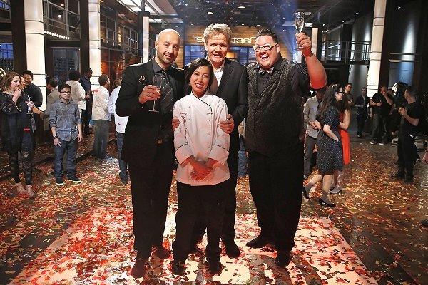 Christine hà chiến thắng vua đầu bếp