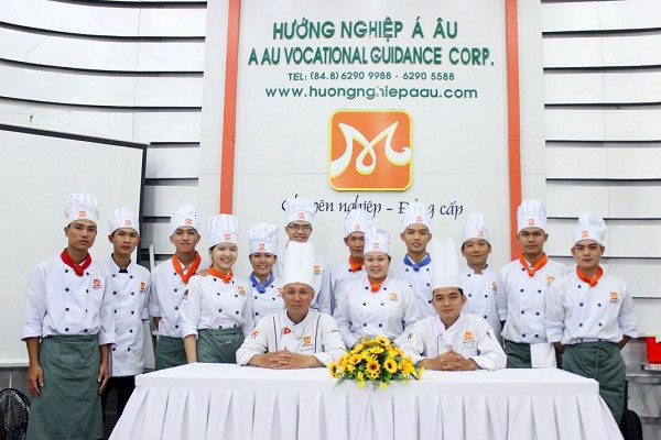 Hình ảnh trường dạy nấu ăn chuyên nghiệp