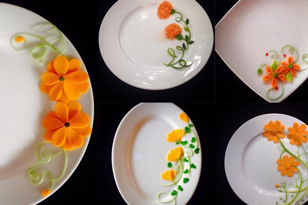 Mẫu trang trí món ăn