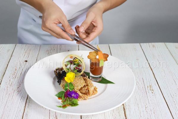 Tầm quan trọng nghệ thuật trang trí món ăn