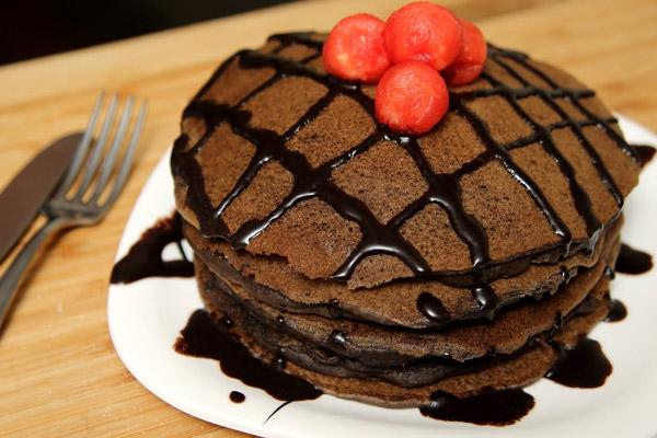 Bánh Pancake Chocolate