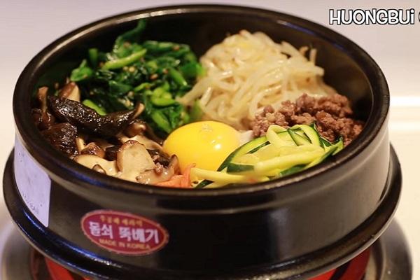 Công thức làm cơm trộn Hàn Quốc cực chuẩn
