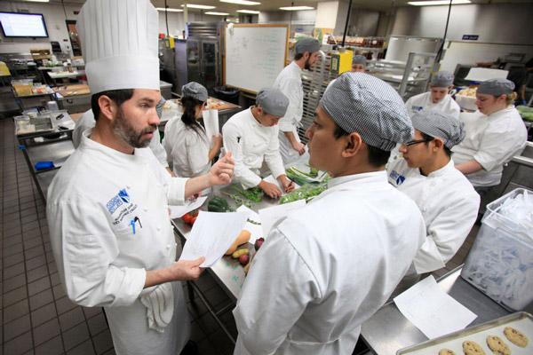 Học nghề bếp tại nước ngoài